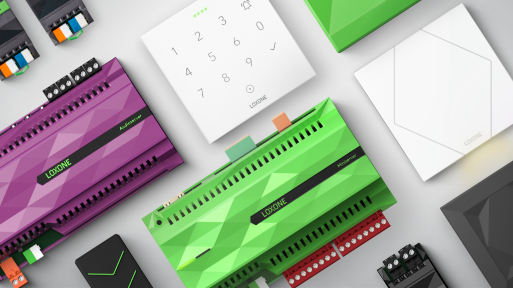Loxone Miniserver und Komponenten
